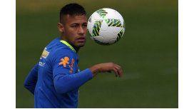 La confianza de Brasil recae en Neymar