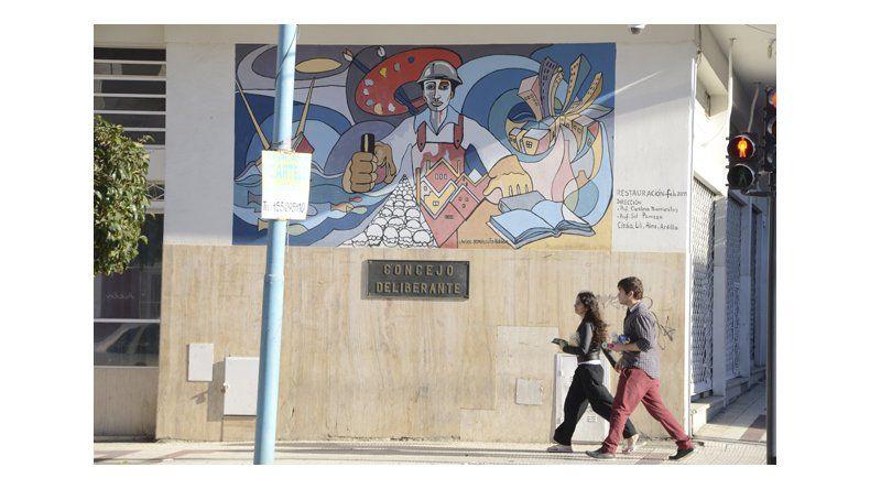 Los murales de la catedral y del aeropuerto  fueron declarados patrimonio artístico