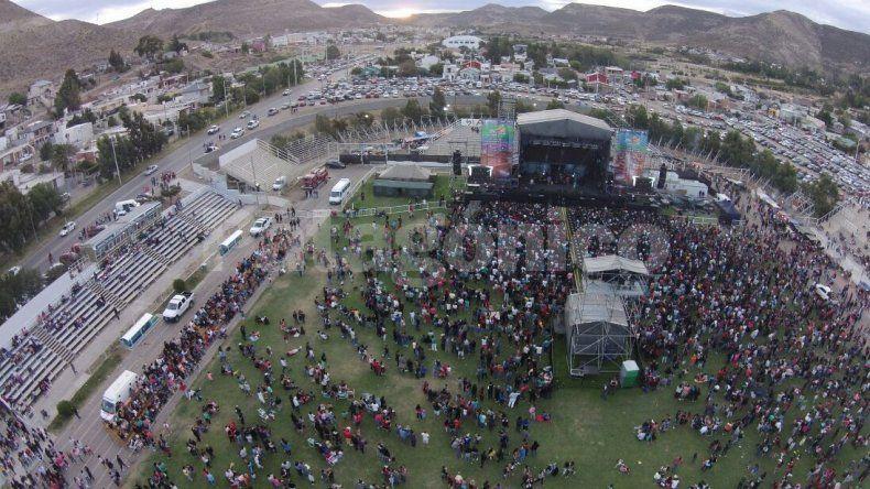 Más de 80 mil personas en las dos jornadas del Aniversario