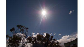Martes soleado con una máxima de 25 °C