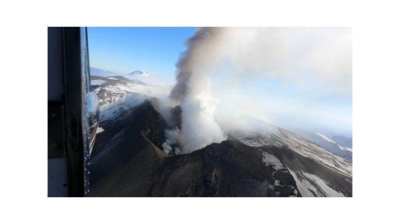 Alerta amarilla por un pulso eruptivo del volcán Copahue