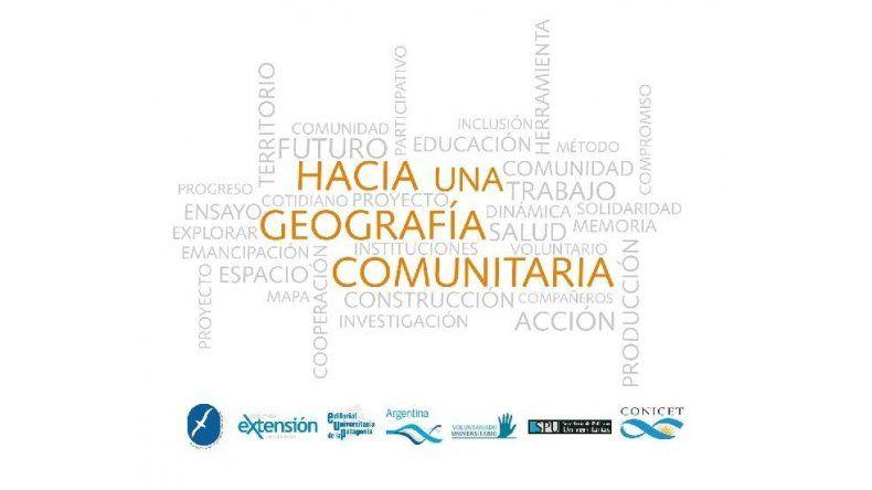 """Presentarán el libro """"Hacia una Geografía Comunitaria"""""""