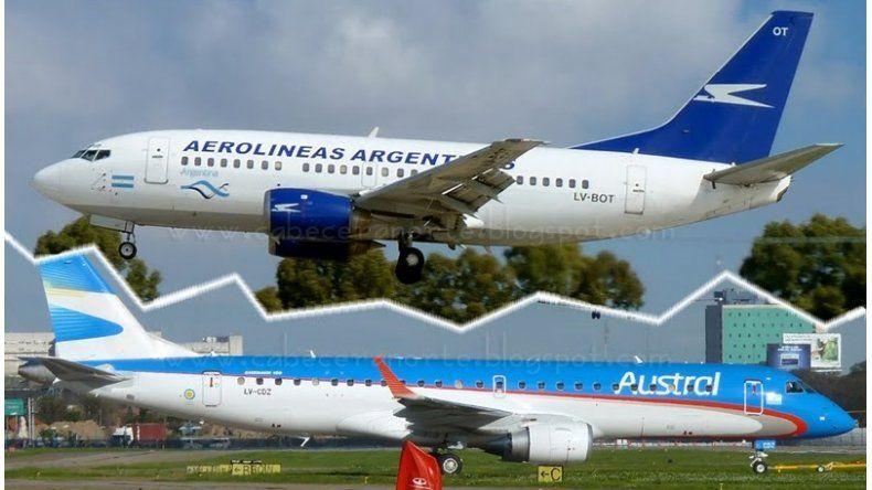 Comenzó a operar Aeroparque con algunas complicaciones