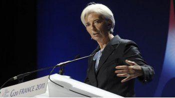 Lagarde renunció temporalmente al FMI