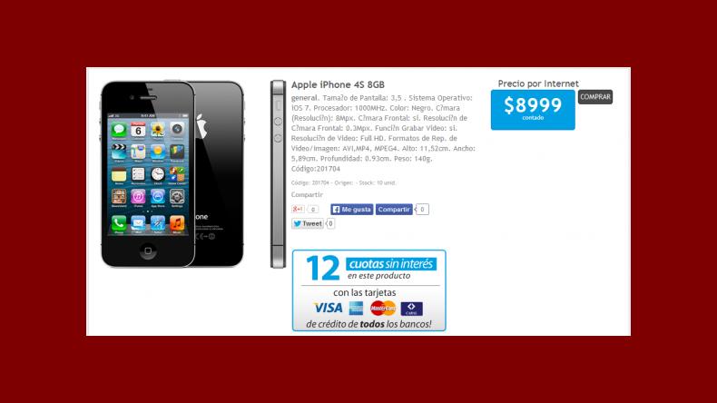 donde comprar iphone 5 en argentina