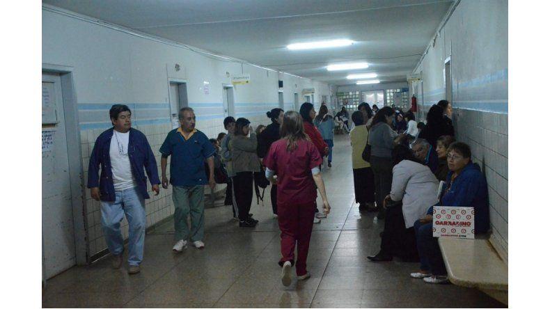 """Según la ministra Eredia """"hoy el hospital funcionó normalmente"""""""