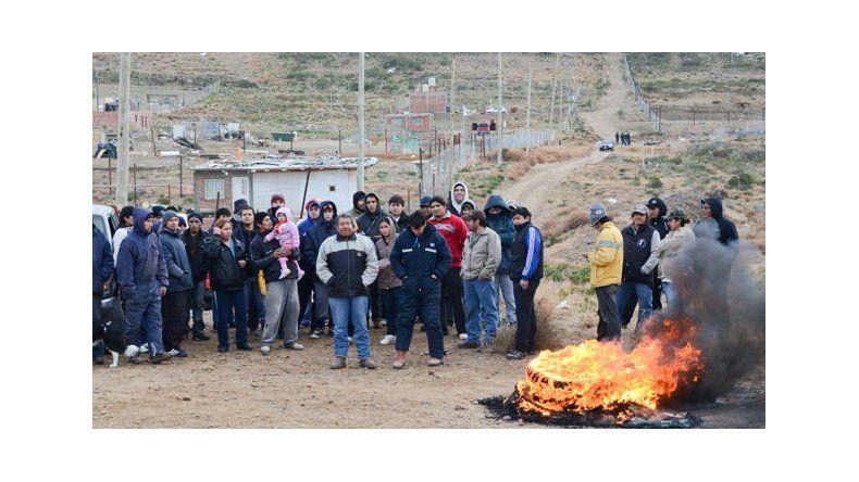 Rebelión en zona de chacras se trasladó al microcentro de Caleta