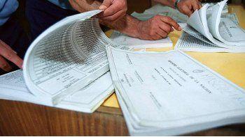 mas de 2 mil electores justificaron el no voto