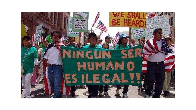 Preparan masivas marchas en EE.UU. para reclamar una reforma migratoria