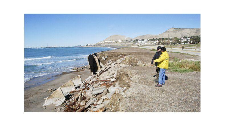 Provincia elabora un proyecto de defensa costera para Comodoro