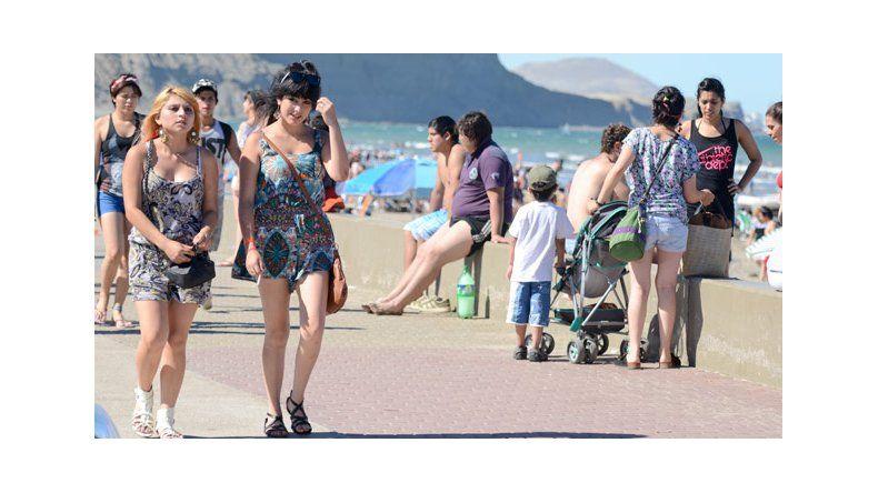 La tendencia es que los turistas se queden más días en Rada Tilly