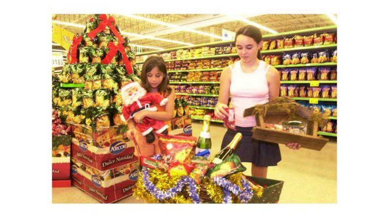 Los supermercados ya ofrecen productos navideños