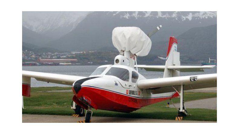 Apareció el piloto y lo trasladan en helicóptero a Comodoro