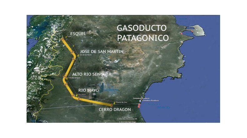 """Peligra el abastecimiento de agua y gas por los destrozos causados por los """"Dragones"""""""