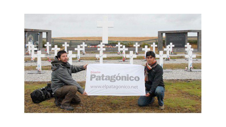 Cementerio de Darwin, único lugar con sentimiento argentino en las Islas