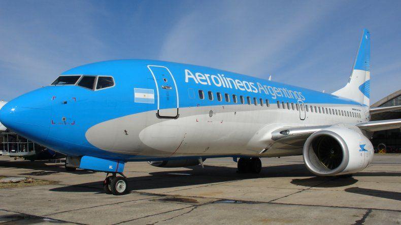 Este viernes no habrá vuelos de Aerolíneas Argentinas