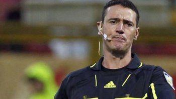 Wilmar Roldán será el árbitro de la final entre Chile y Argentina