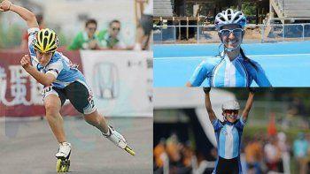 Una patagónica le dio la segunda medalla de oro a la Argentina