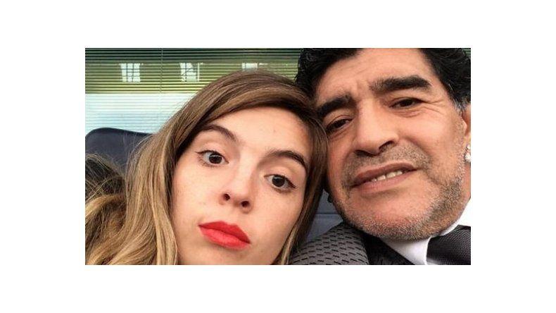 Dalma Maradona criticó el entorno de su papá