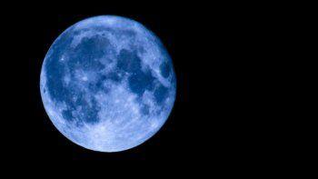 Esta noche habrá Luna azul