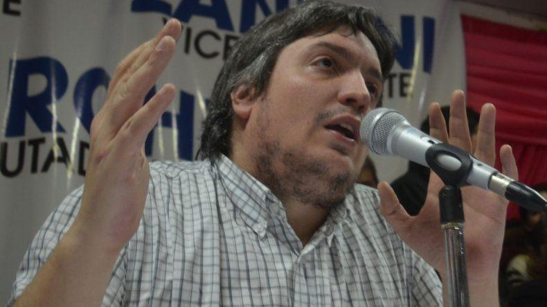 Internaron a Máximo Kirchner por un absceso hepático