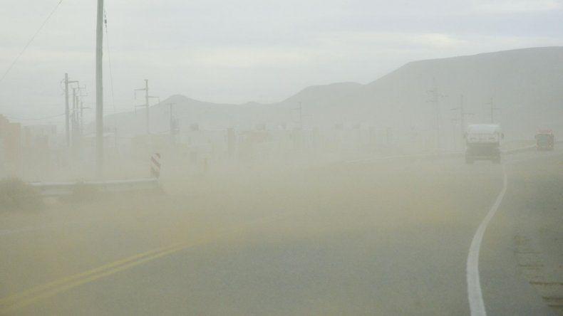 Martes ventoso con ráfagas de hasta 97 Km/h