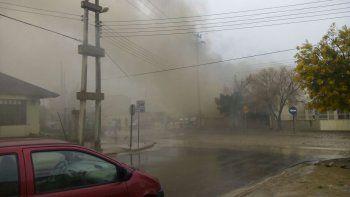 Rada Tilly movilizada: ayudan a familia que perdió todo en un incendio