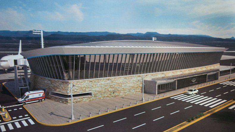 En septiembre se licita la nueva terminal aérea de Comodoro Rivadavia