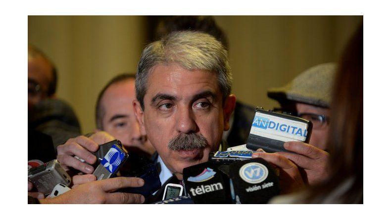 Aníbal Fernández fue el primer político en votar