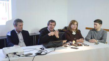 Los representantes de Cambiemos Chubut presentaron un informe donde se analiza la situación económica de la provincia.