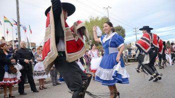 La comunidad chilena conmemora su independencia en el boulevard de OHiggins