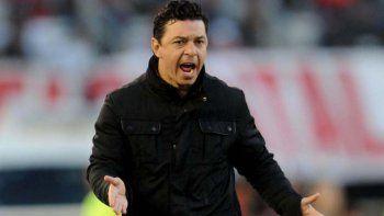 Marcelo Gallardo: vinieron a defenderse