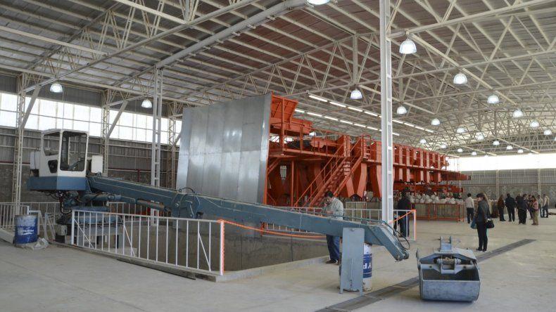 La planta de tratamiento estará en pleno funcionamiento desde enero