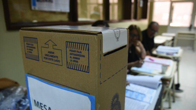 Habrá 210 escuelas afectadas por las elecciones del domingo