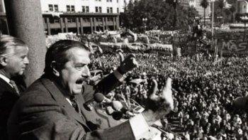 Ricardo Alfonsín es electo presidente