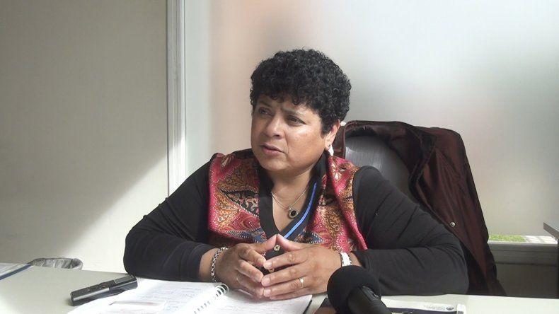 Amelia Carrizo informó acerca de los cursos de Operador de PC y de Gestión Empresarial que se brindan desde el área.