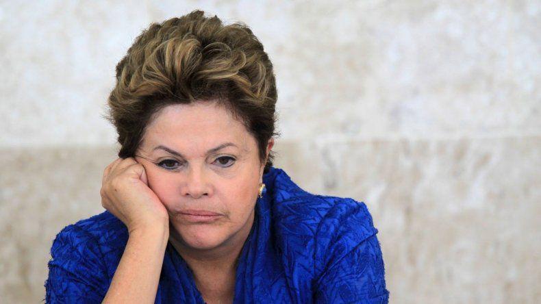 Dilma Rousseff atraviesa el momento más difícil de su presidencia.
