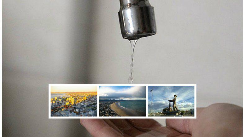 Llega a los hogares el suministro de agua