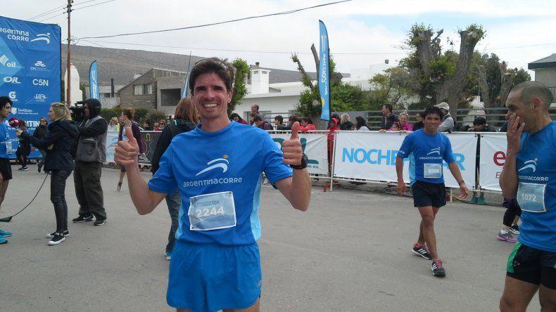 Jorge Mérida ratificó su vigencia en los 10k.