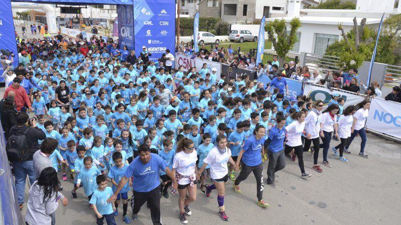 Mini Argentina Corre es una propuesta que busca acercar al deporte a los más chicos