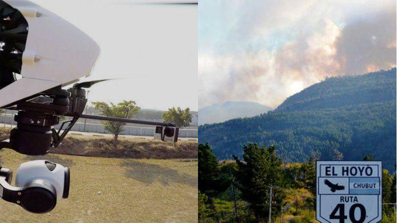 La utilización de drones y tecnología 3D  será para prevención y monitoreo de incendios