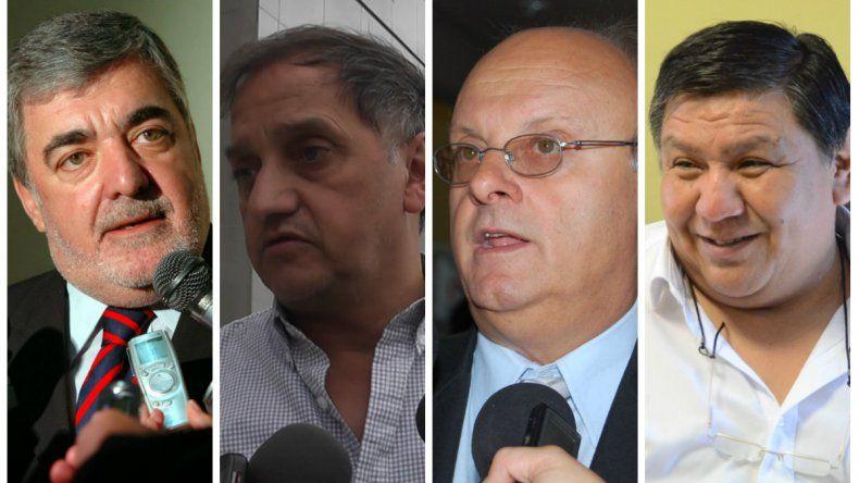 Das Neves, Linares, Di Pierro y Ávila mantuvieron una reunión