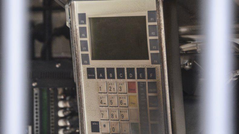 Avanza la investigación por el incendio del cajero y hoy esperan acceder a las grabaciones de las cámaras de seguridad.