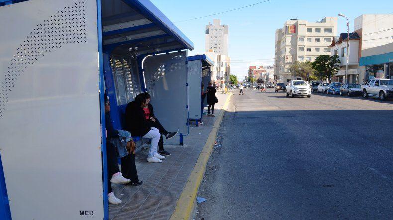 Garita sobre la calle España-