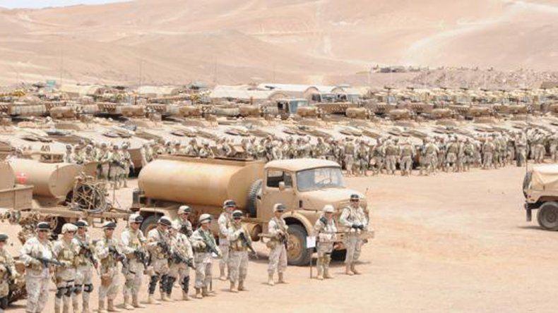 Chile moviliza casi 6.000 hombres en las fronteras del norte.