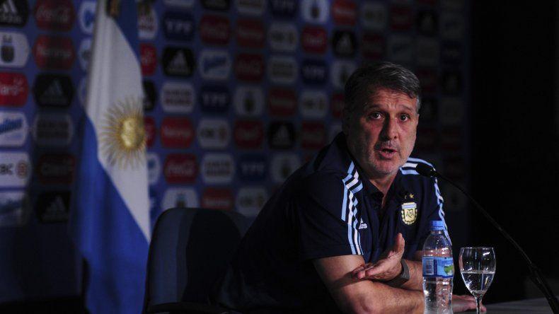 Gerardo Martino aseguró que las condiciones están equiparadas para el clásico con Brasil