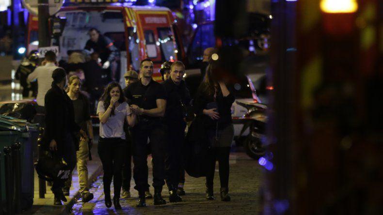 La noche de terror en Paris que dejó más de un centenar de muertos