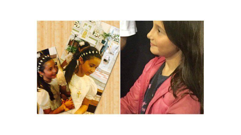 El tierno homenaje de la hija de Romina Yan en su comunión