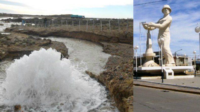 Caleta sigue sin agua por dos roturas en el acueducto