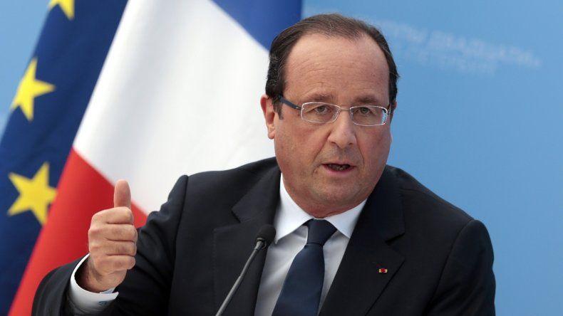 Hollande: estamos en guerra y debemos destruir a ISIS